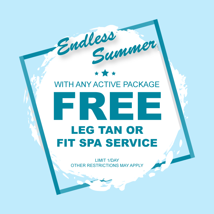 Endless Summer Free Leg Tan or Fit Spa Service Coupon