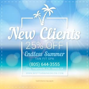 Endless Summer Tan Fit Spa Promotions